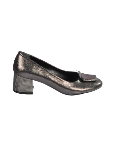 Maje 2122 Platin Kadın Topuklu Ayakkabı Gümüş